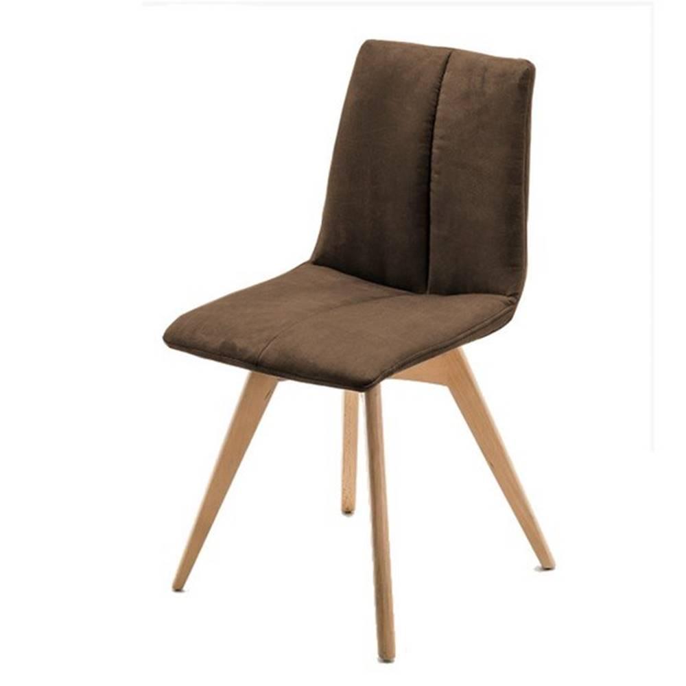 Sconto Jedálenská stolička SANNE hnedá
