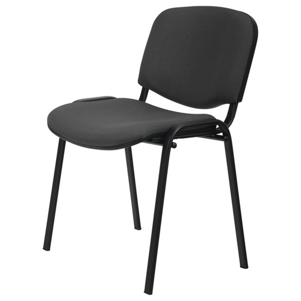 Sconto Konferenčná stolička ISO čierna/sivá