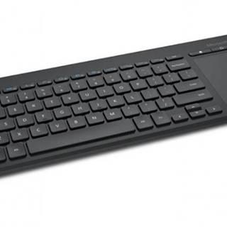 Microsoft All-in-One Media Keyboard USB CZ, čierna