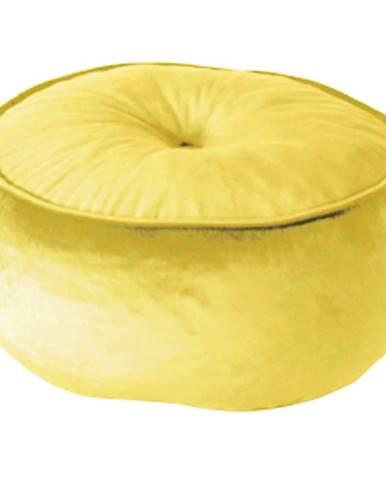 Taburet látka žltá KEREM