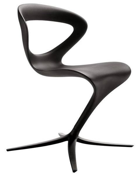 Čierna stolička Abc