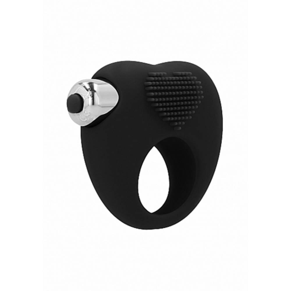 Rabalux Aubin Vibračný erekčný krúžok, čierna