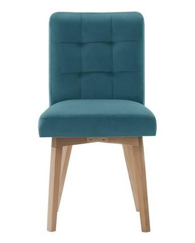 Tyrkysová jedálenská stolička Rodier Haring