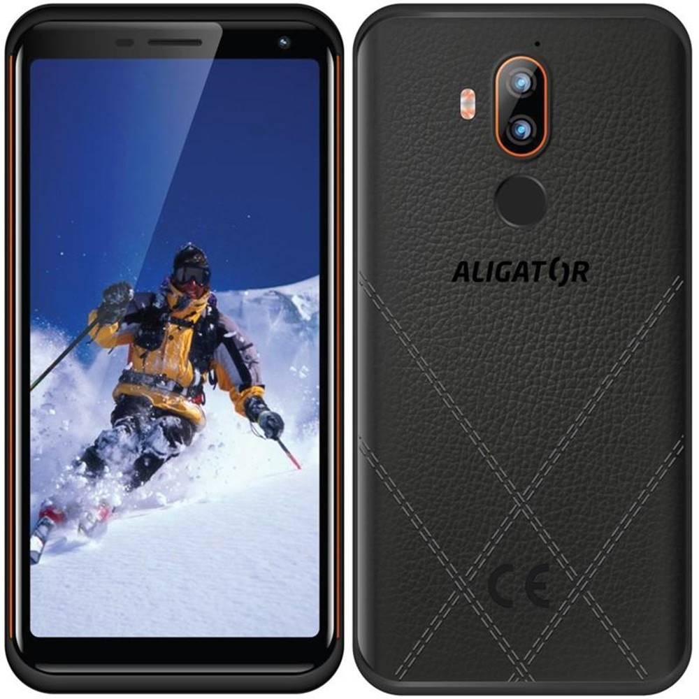 Aligator Mobilný telefón Aligator RX800 eXtremo čierny/oranžový