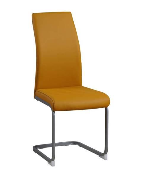 Žltá stolička Tempo Kondela