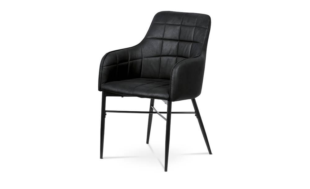 Sconto Jedálenská stolička DAMIRA čierna