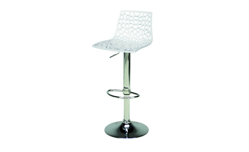Sconto Barová stolička SPIDER biela